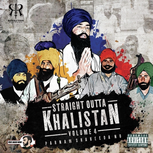 Dowload and Listen |  Straight Outta Khalistan 4 | Bhindranwale Songs